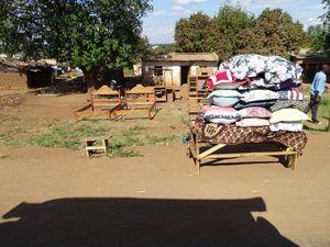 Scène ce vie Mozambicaine....