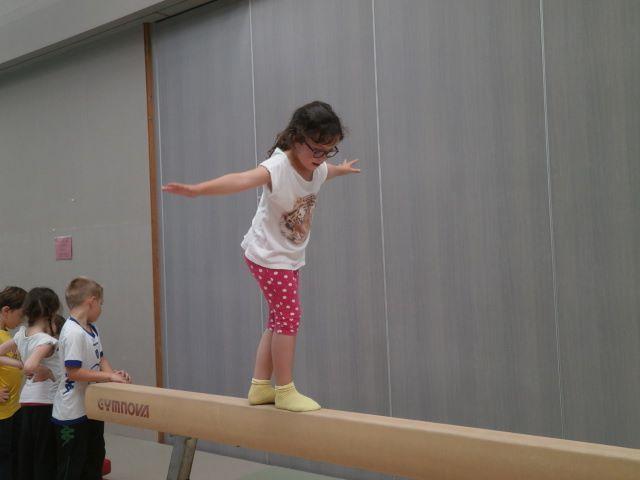 Ateliers sportifs pour les CP de Sylvie