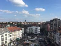 Guillaume Bottazzi  / place Jourdan, Brussels