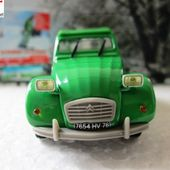 FASCICULE N°7 CITROEN 2CV6 1974 PEINTURE VERTE NOREV 1/43 HACHETTE COLLECTION - car-collector.net
