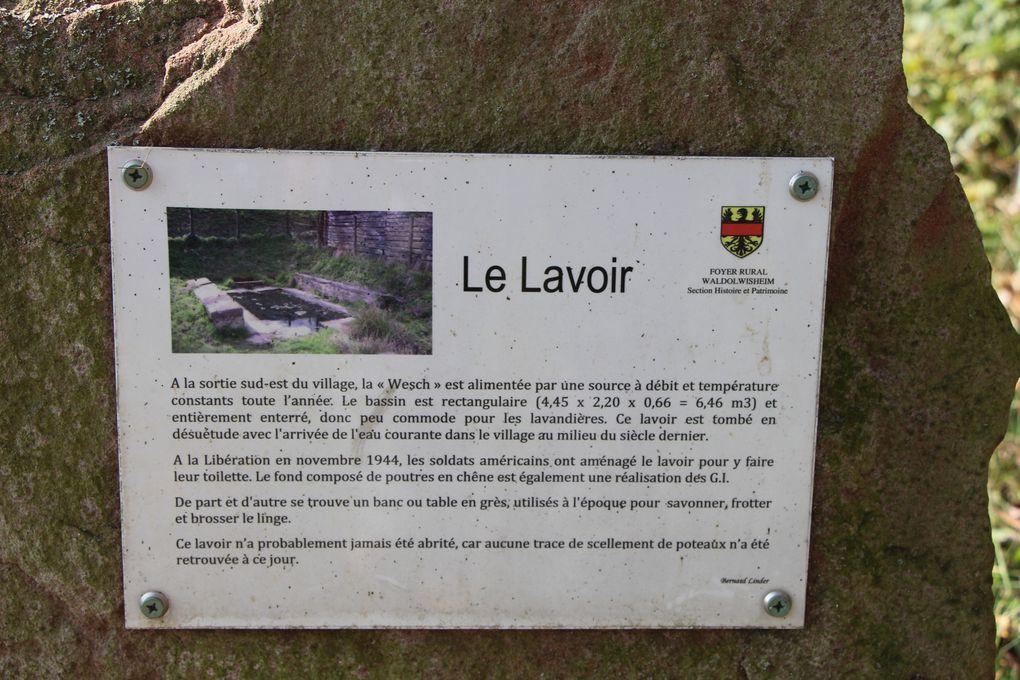 Lavoirs de Griesbach-le-Basberg , Waldolwisheim et Wiwersheim