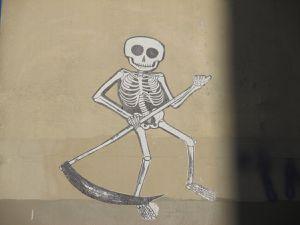 Squelette non identifié - Paris 20e