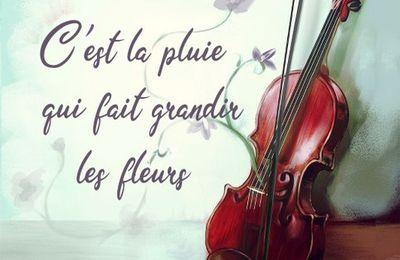C'est la pluie qui fait grandir les fleurs - Marjorie Levasseur