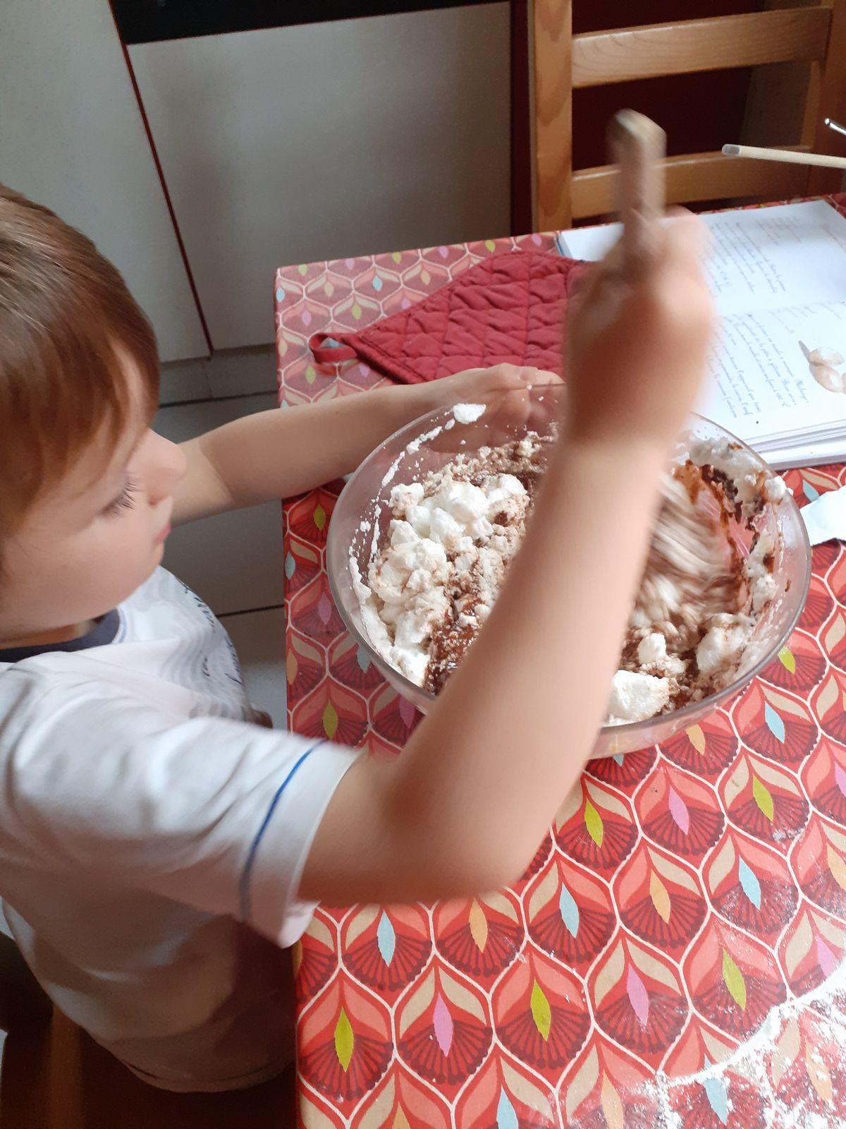 Le gâteau au Chocolat de Léandre