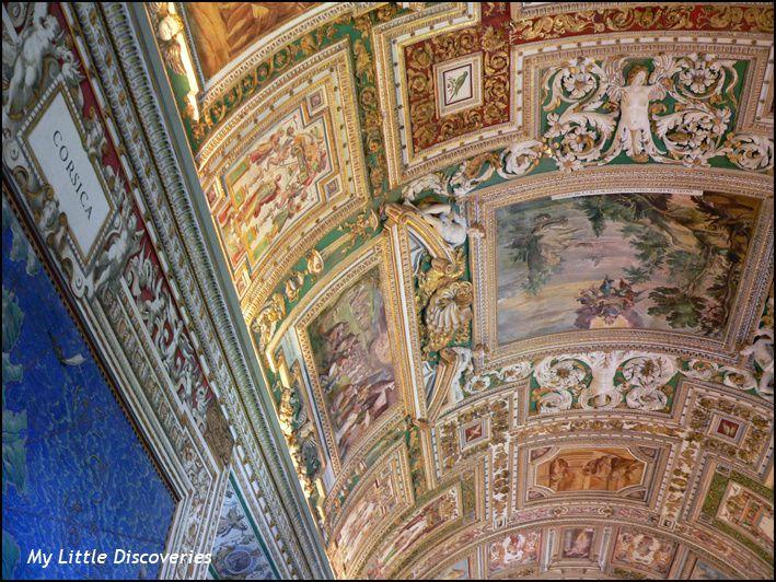 Les Musées du Vatican et la Basilique Saint-Pierre (il est interdit de prendre des photos dans la Chapelle Sixtine)