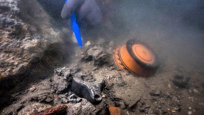 Egypte : Des vestiges d'un navire militaire et d'un complexe funéraire découverts à Héracléion