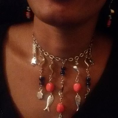 Collier Petits poissons