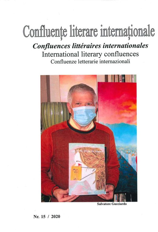Salvatore Gucciardo collabore au magazine Confluences littéraires internationales n°15
