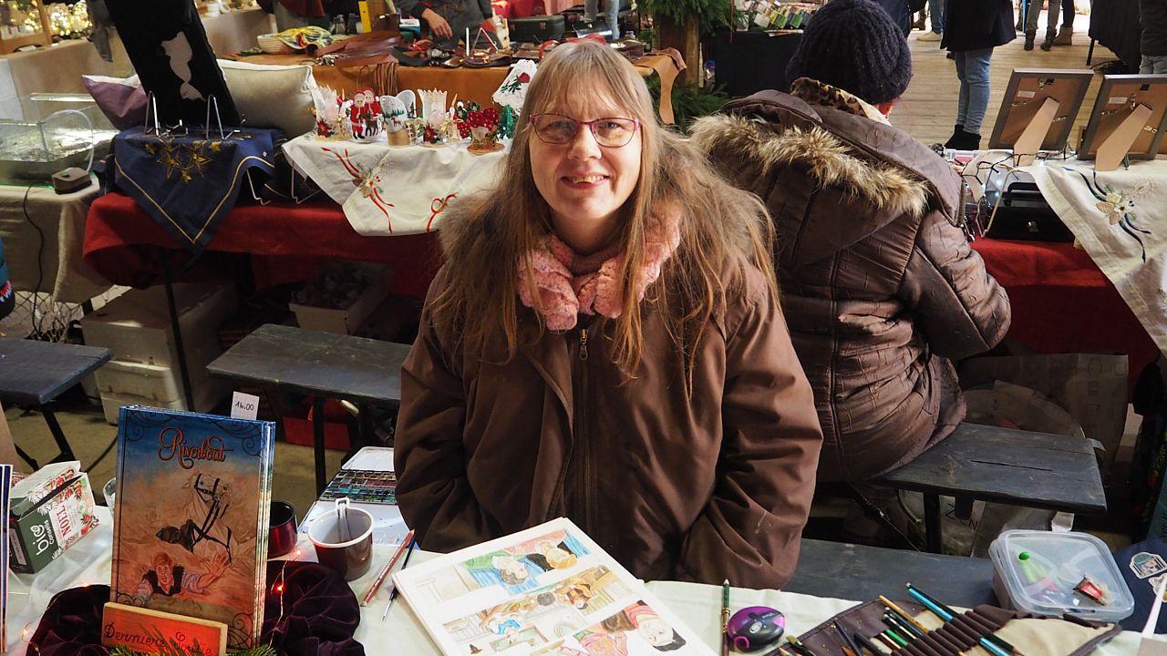 Diana Kennedy ne viendra pas au marché de Noël sous l'Abridici avec son âne, Gamin