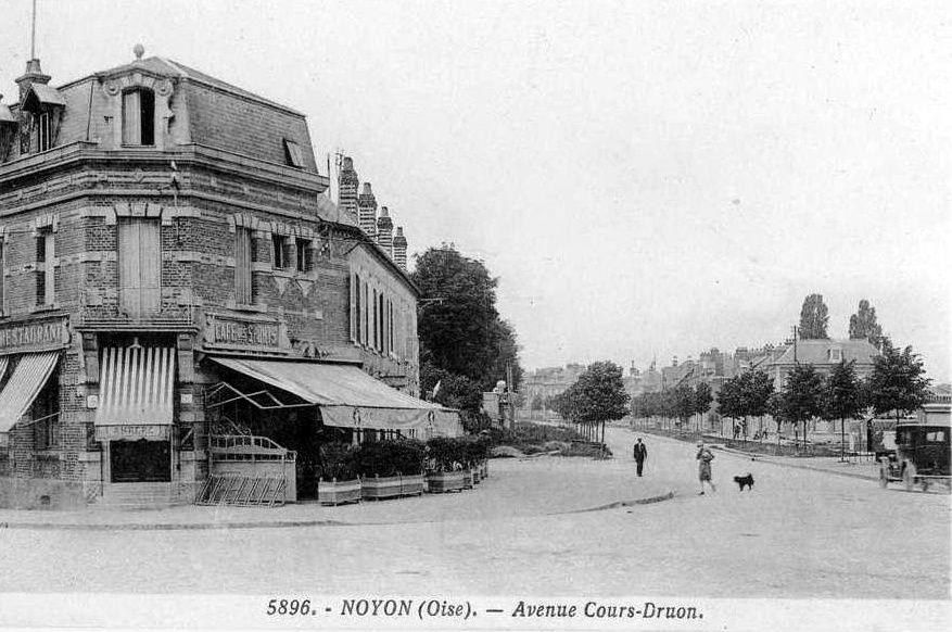 Album - la ville de Noyon (Oise), le cours druon