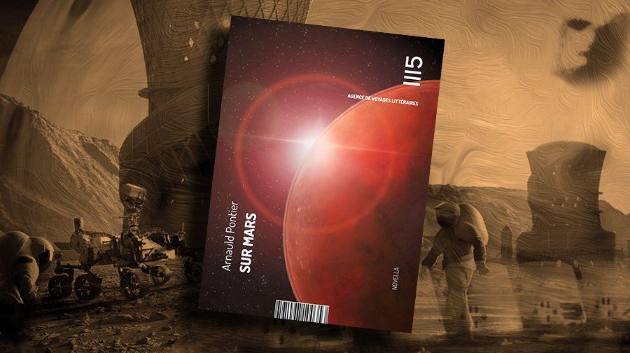 👽📚 ARNAULD PONTIER - SUR MARS (2009)