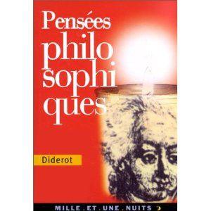 Pensées philosophiques (Denis Diderot)