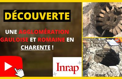 France : Découverte d'une agglomération gauloise et romaine en Charente !