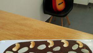 Tarte chocolat caramel beurre salé ovale