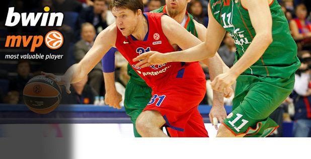 Playoffs - Game 2: Viktor Khryapa élu MVP