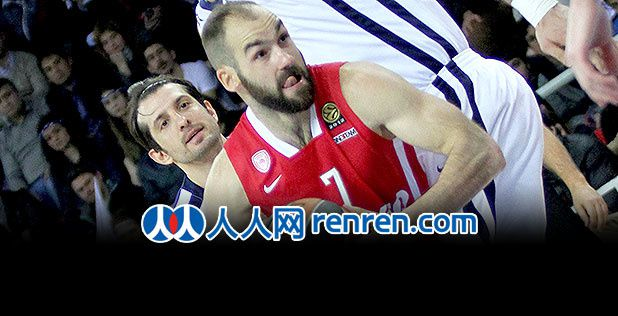 China's Favorite player unveiled: Vassilis Spanoulis