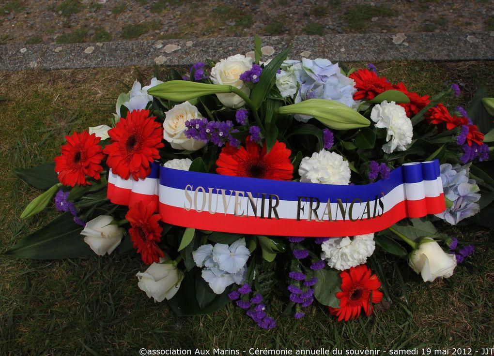 Samedi 19 mai 2012-cérémonie annuelle du souvenir à la mémoire des marins disparus entrant dans le cadre des journées de la mémoire maritime - 1ère partie