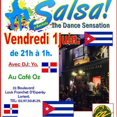 soirée salsa y bachata