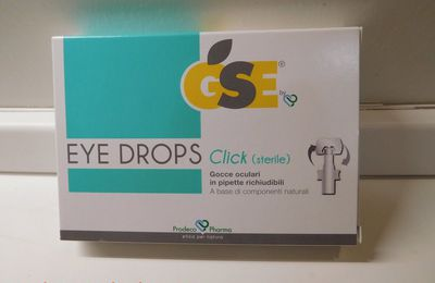 Collirio GSE Eye Drops click a base di componenti naturali