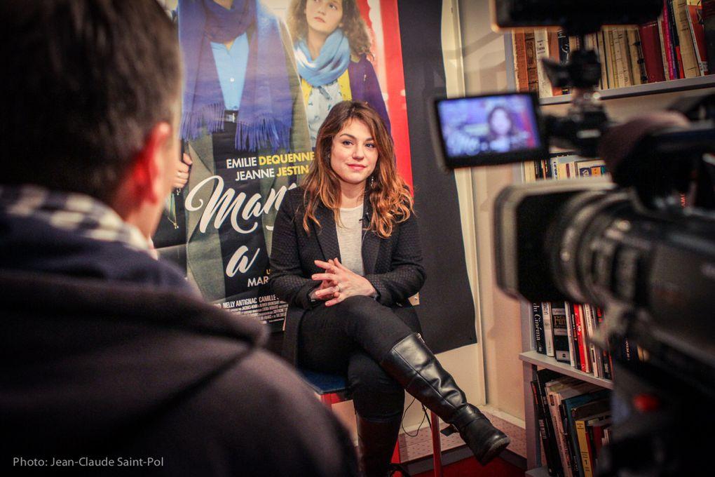 Rencontre avec ÉMILIE DEQUENNE autour du film MAMAN À TORT de Marc Fitoussi