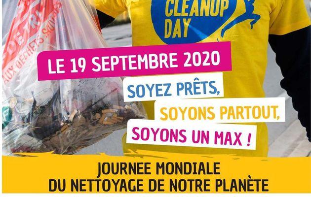 Le World Cleanup day à Laudun-l'Ardoise