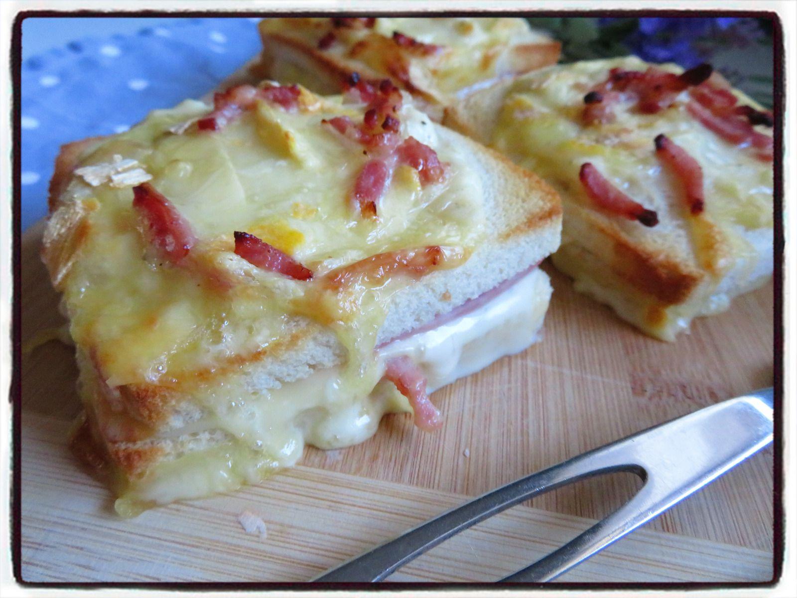 croque savoyard reblochon fromage