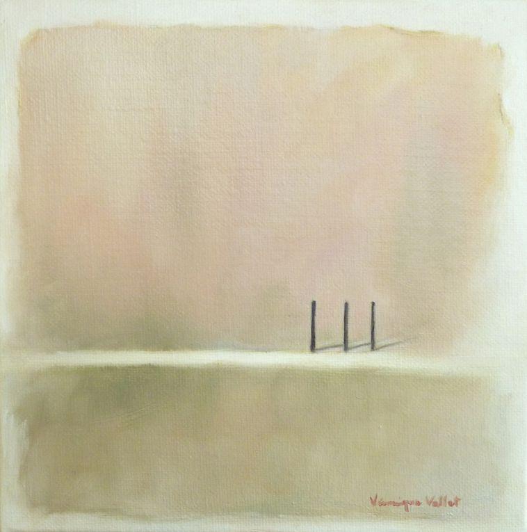 """1)-""""Les Trois"""" (33x22cm) - 2)- """"La Solitude, Noir"""" (18x24cm) - 3)- """"La Solitude, Noir et Blanc"""" (18x24cm) 4) - """"La Solitude, Blanc"""" (18x24cm) - 5)- """"L'Illusion du Temps, Comment"""" (20x20cm) - 6)- """"L'Illusion du Temps, Où"""" (20x20cm) - 7)- """"L'Illusion du Temps, Pourquoi"""" (20x20cm) - 8)- """"L'Illusion du Temps, Quand"""" (20x20cm)"""