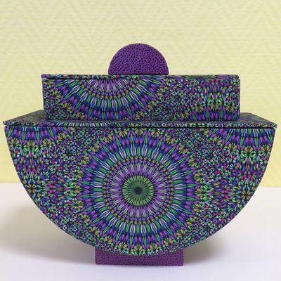 Des mandalas pour une boîte Klimt ...