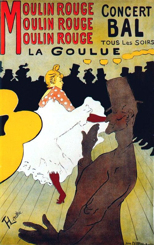 PUBLICITES :  LES  GRANDS  NOMS  DE  L'AFFICHE...   Henri de TOULOUSE LAUTREC.