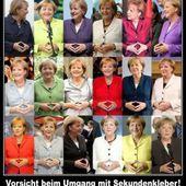 Angela Merkel cache t-elle son ventre, ou abuse t-elle de Superglue? - Doc de Haguenau