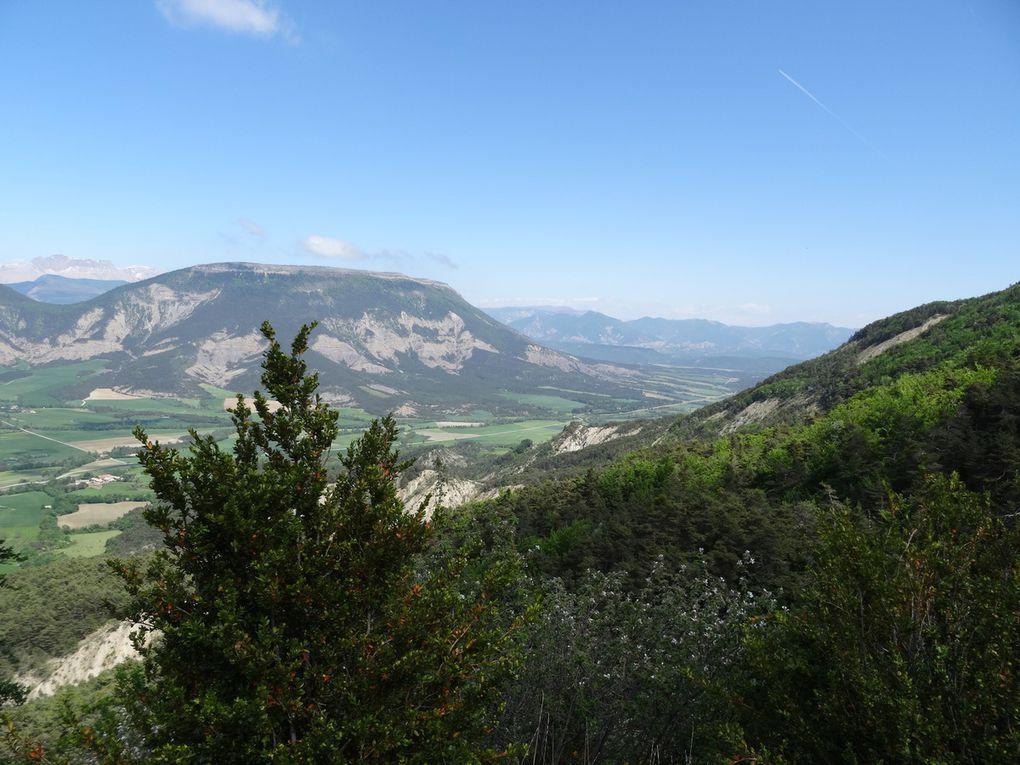 Parcours n°12 noir FFC au départ de St Pierre d'Argençon (Haut-Buëch) le 16/05/2015