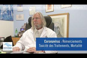 [#Coronavirus] Pr Didier Raoult IHU Méditerranée infections | Toxicité des traitements | Mortalité | Bulletin d'information du 24 mars 2020