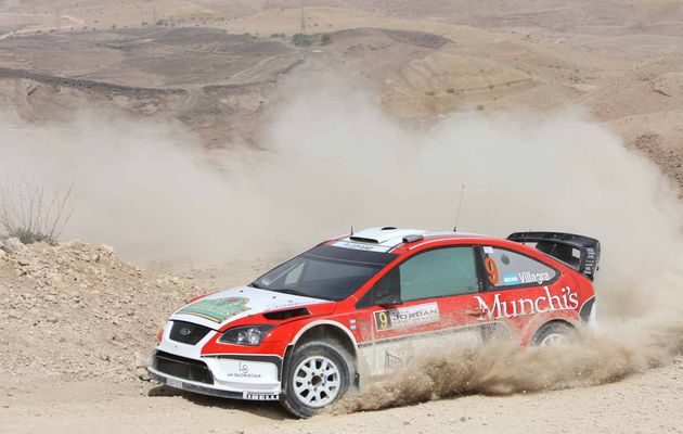 Villagra en Jordania: Munchis Rally Team