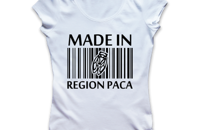T-shirt: France - Provence-Alpes-Côte d'Azur - PACA - Made in PACA.