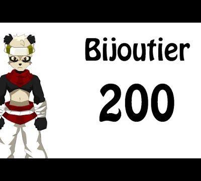 COMMENT MONTER SON BIJOUTIER LVL 200