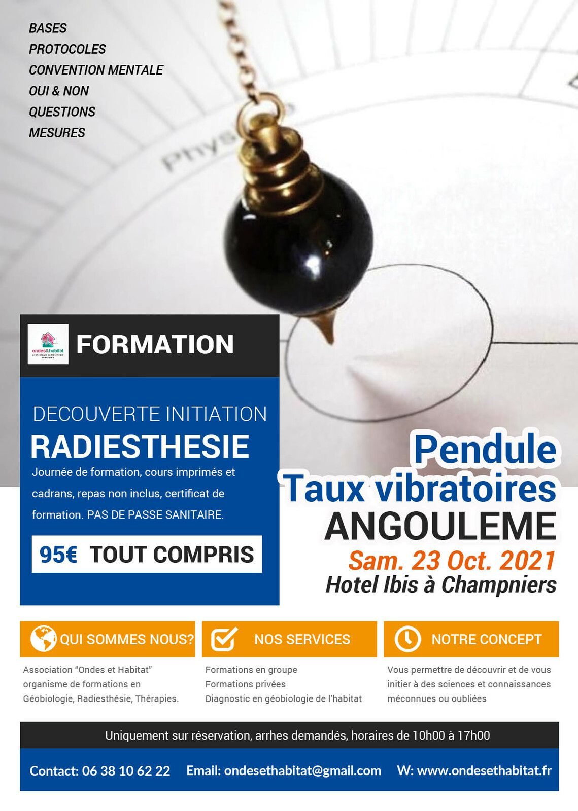 ►   ANGOULÊME Formations