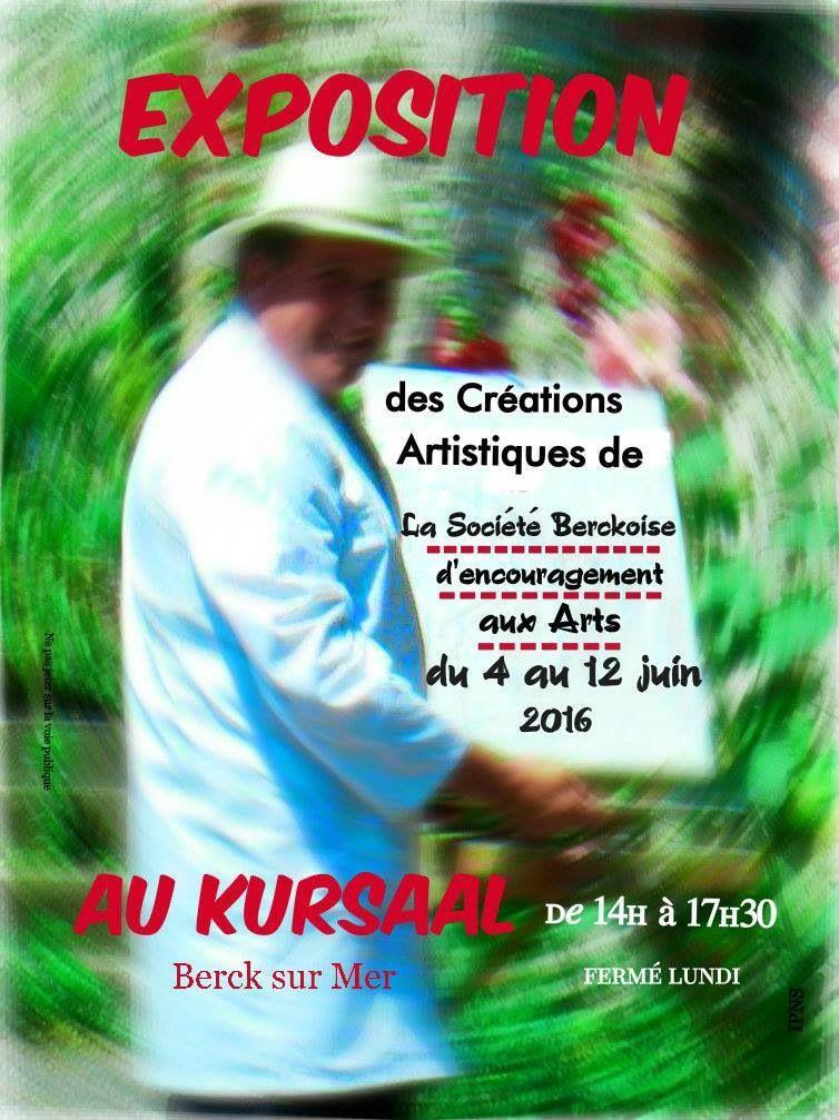 EXPOSITION DE LA SBEA ...AU KURSAAL DE BERCK...