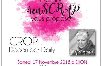 Crop 4enscrap : 17 novembre 2018