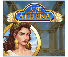 machine a sous mobile Rise of Athena logiciel Play'n Go