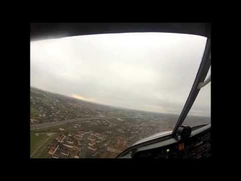 A Wet Day in a DR400 : GoPro Hero2 Pilot's View (HD 1080p)...