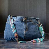 DIY Bag from Jeans - A Fun Way to Recycle and Repurpose Old Stuff