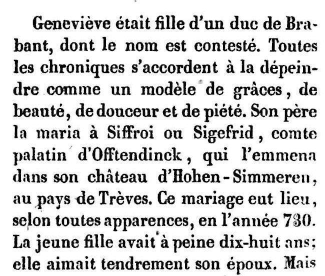 Geneviève de Brabant (1837)