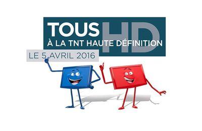 Le 5 avril 2016, la TNT passe à la haute définition