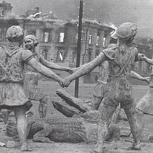La fontaine de l'amitié (Stalingrad, août 1942)