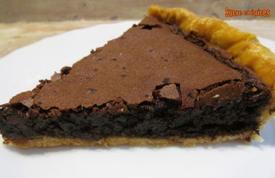 Tarte américaine au chocolat - Chess pie