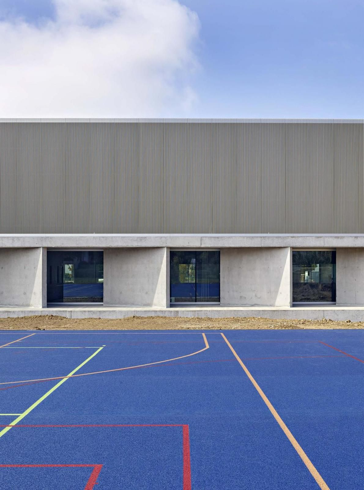 AARDORF SPORTS HALL BY GRAF BISCIONI ARCHITECTS