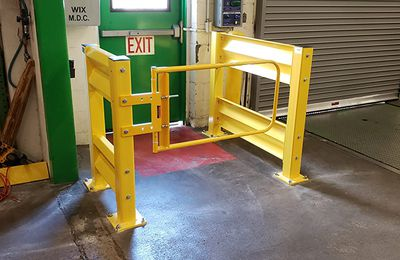 Industrial Safety Gates Provides Strong Fall Protection For Businesses