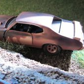 PROJECT 1969 PONTIAC GTO CASTLINE 1/64 M2 MACHINES PONTIAC GTO RUSTY - car-collector.net
