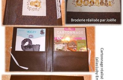 "Porte documents ""chouettes"""