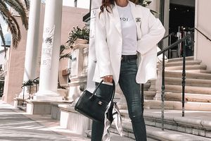 How to wear an Oversized or Boyfriend Blazer?